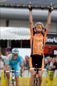 Victoria y dedicatoria del excampeón olímpico a Cabedo / Foto UCI