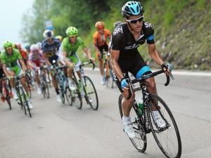 Henao, en la pasada Vuelta a Polonia