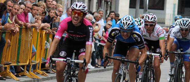 Rafael Márquez, entrando en meta.