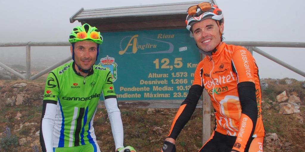 Basso y Sánchez / Ciclismoenasturias.com