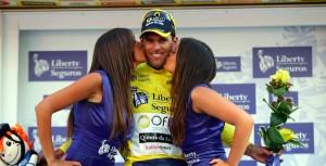 Marque, en el podio de la Volta Portugal.