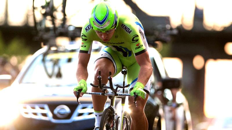 Sagan, durante la CRI © Canadian Cyclist