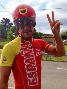 Alonso, con el maillot olímpico español ©Uluru