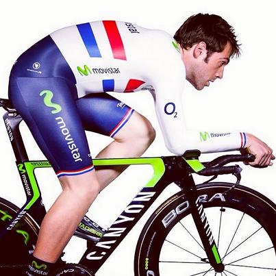 Dowsett, con su maillot de campeón británico CRI