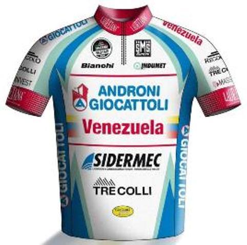 Maglia del Androni 2014