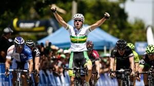 La victoria de McCarthy © Herald Sun Tour