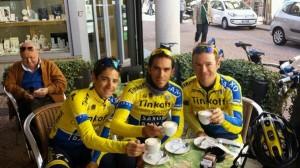 Hernández, Contador y Paulinho