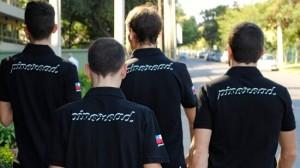 Los españoles del equipo © PinoRoad