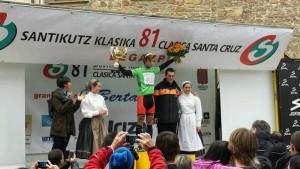 Adrià Moreno, vencedor de la montaña. © RFEC