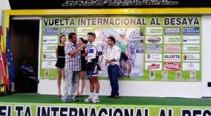 Diego Pablo Sevilla, vencedor en la última etapa y segundo de la general final.