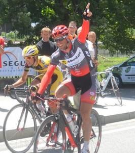 Joan Font tras ganar en Andorra.
