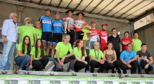 Podio con los ganadores de la 50 San Martin Proba. © FGC