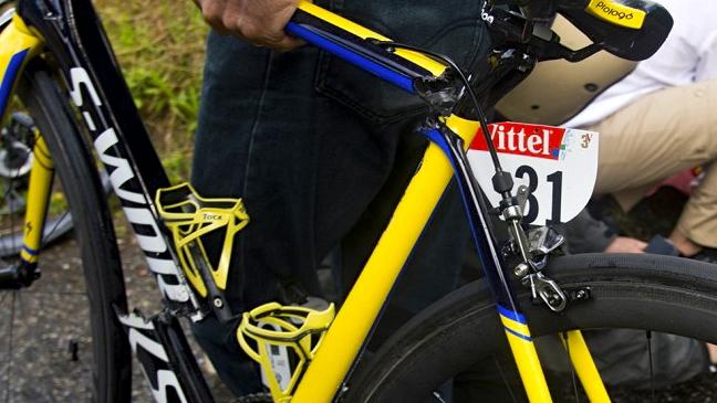 La Bici De Contador No Se Rompi 243 En Su Ca 237 Da Fotos Ciclo21