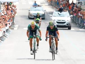 El sprint final © Movistar