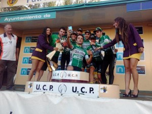 El Caja Rural-RGA, el mejor equipo de la ronda palentina.