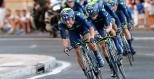 Los ganadores, en acción © Movistar