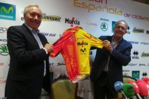 Mínguez y López Cerrón, con el nuevo maillot de España marca Inverse