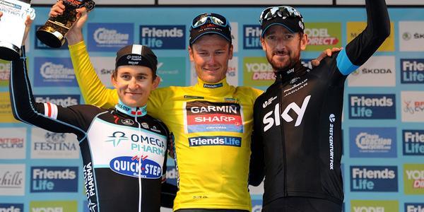 Kwiatkowski, Van Baarle y Wiggins © Sky