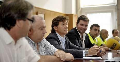 El consistorio estradense acogió la presentación de la ronda, con siete equipos gallegos participantes © lavozdegalicia.es