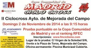 Cartel Ciclocross Mejorada 2014 xxx