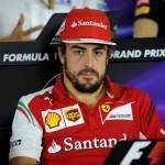 Alonso, en la rueda de prensa de Sochi © Ferrari