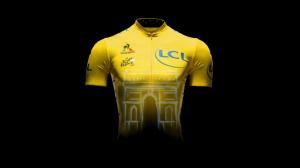 El nuevo maillot amarillo © Le Coq Sportif