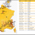 Mapa del Tour de Francia 2015 © @velobs