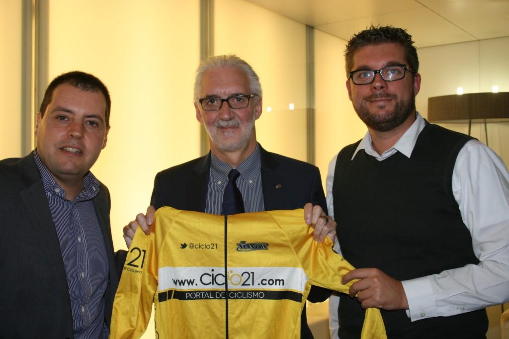 Brian Cookson en Ciclo21