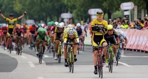 La victoria del australiano @ 7 Cycling
