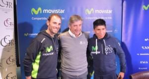 Valverde, Unzué y Quintana © Movistar