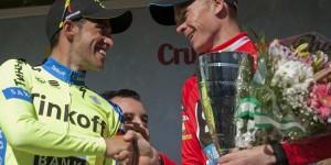 Contador felicita a Froome © Sky