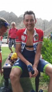Valls, tras acabar la prueba © Tour Omán