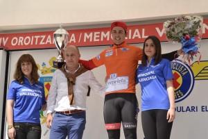 Diego Tirilonte, vencedor de la combatividad