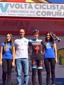Barceló, 2º de la etapa y líder de la montaña.