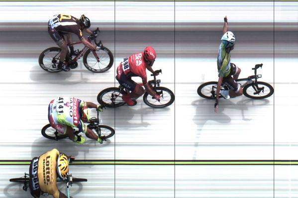 Sagan, 3º, se lleva la vuelta © tourtracker