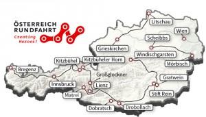Mapa de la ronda