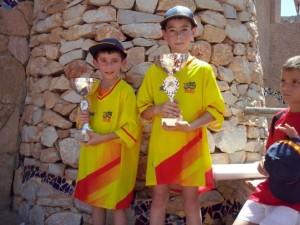 Los hermanos Tulleuda, con sus maillot de campeones © FB Tulleuda