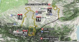 Mapa de la ronda gala