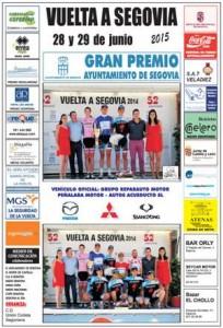 Cartel Vuelta a Segovia 2015