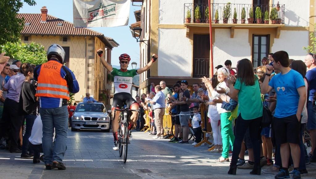 Mikel Aristi, ganando en Segura © FVC