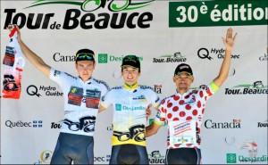 El podio © Tour Beauce