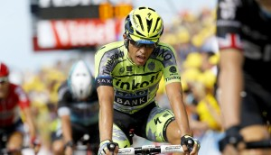 Contador, en la meta de Zelanda © Tinkoff