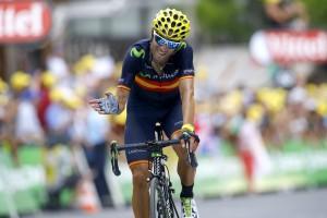 Valverde llega a Pra Loup © Movistar