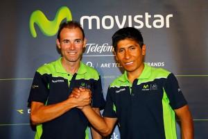 La dupla del equipo español © Movistar