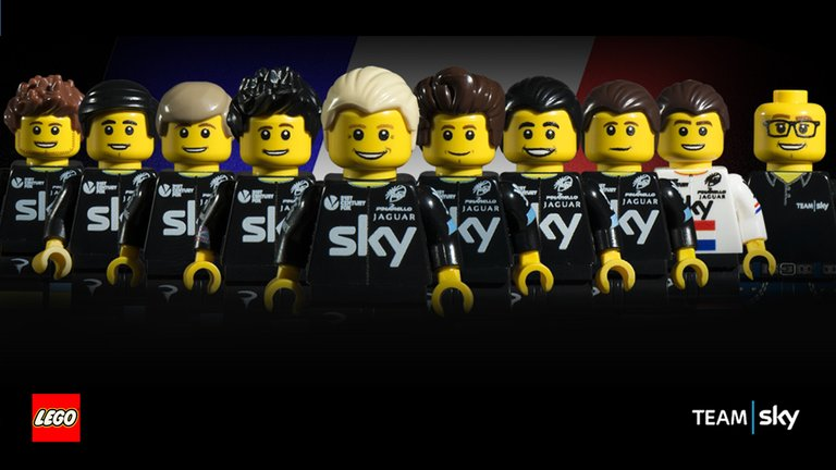 EL © Sky al completo © Lego