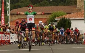 Irisarri celebraba así su victoria © FVC