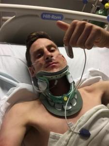 Brammeier desde el hospital