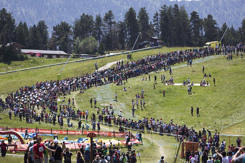 Circuito Xco : Mundiales máster de btt en vallnord bike park la massana
