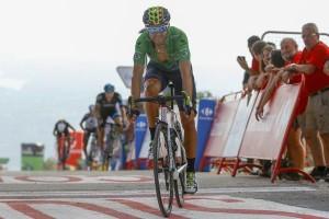 Valverde llega a meta © Movistar