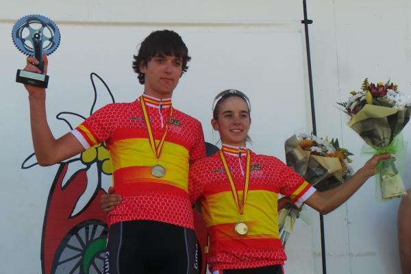 Alejandro Gomiz y Rocío del Alba, nuevos campeones de España júnior © RFEC